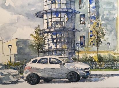 Urban Sketcher 8